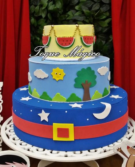 Bolos Show da Luna para Festa Infantil