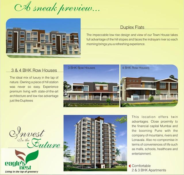 Eagle Nest Apartments: Pune Properties: Eagle's Nest