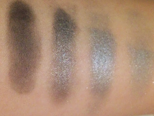 Review: Rimmel 001 Smokey Noir Quad