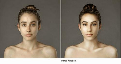 hasil photoshop wanita United Kingdom
