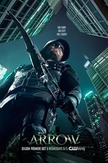 "Primer Póster oficial de la quinta temporada de ""Arrow""."