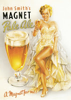John Smiths Magnet Pale Ale - a magnet for me