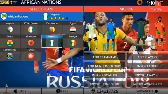 FTS 2019 World Cup 2018 Edition Android Mod - Micano4u | PES