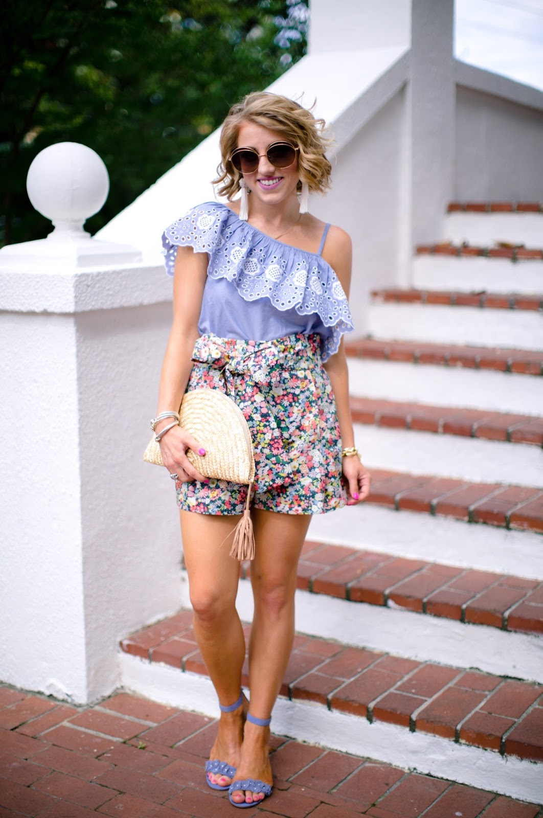 How to style high waist shorts - Click through to see more on Something Delightful Blog!