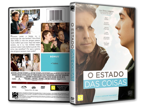 Capa DVD O Estado das Coisas [Exclusiva]