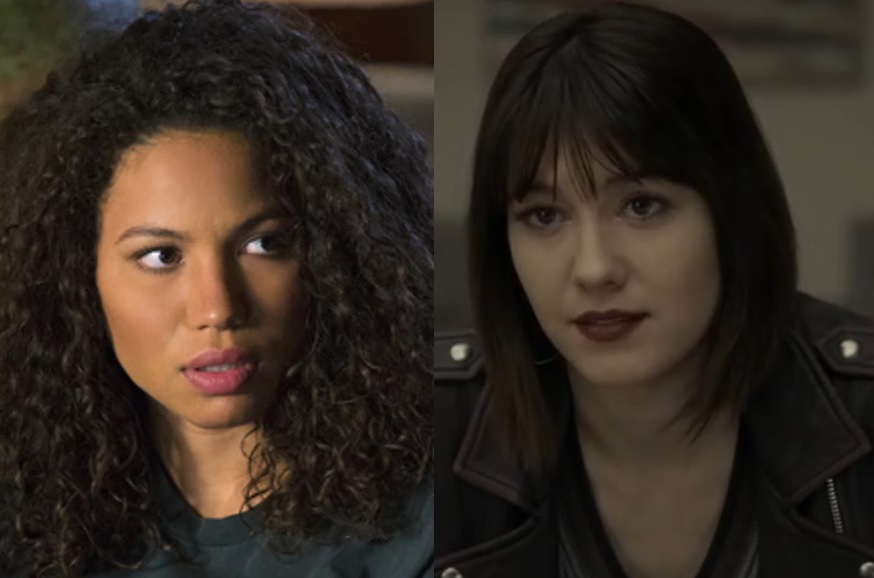 Damn Good Coffee And Hot Birds Of Prey Casts Jurnee Smollett Bell As Black Canary Mary Elizabeth Winstead As Huntress