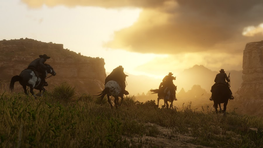 red dead online open world multiplayer