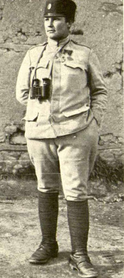 Milunka Savic -  the most decorated woman soldier in the First World War