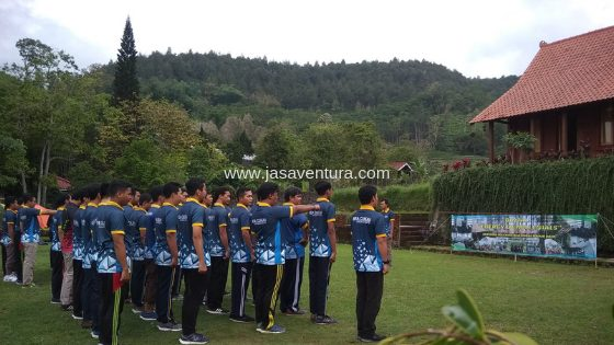 outbound training pacet mojokerto