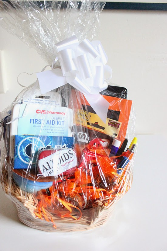 New Job Survival Kit Gift Basket DIY Project Gift Idea