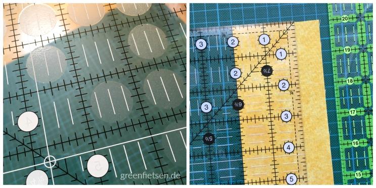 Lineal von Creative Grids mit Anti-Rutsch-Punkten
