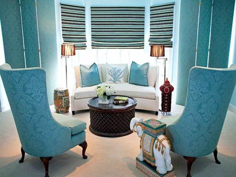 Home Decor: Brilliant Turquoise Interior designs
