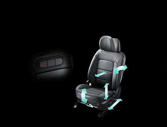 Ghế lái chỉnh điện 10 hướng cùng nhớ 2 vị trí trên xe Kia Cerato 2017