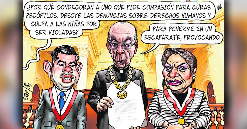 Carlincaturas Sábado 2 Junio 2018 - La República