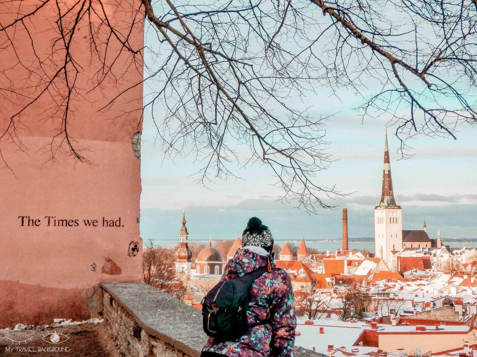 My Travel Background : Escale à Tallinn en Estonie, la perle de la Mer Baltique - Vue sur Tallinn depuis Toompea