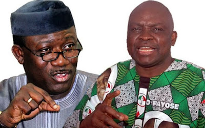 Fayose Will Only Vote And Return To His House On Election Day —Fayemi