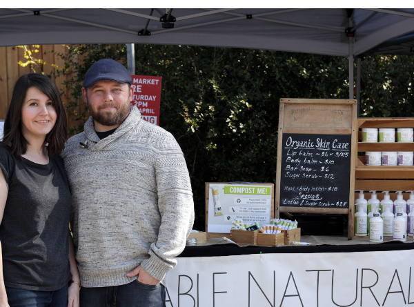 Fable Naturals co-founders Gwen Richards and Chris Nicol