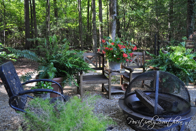 Positively Southern: Outdoor Fire Pit Inspiration on Fire Pit Inspiration  id=31853