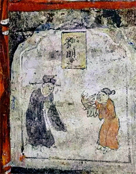 Murals discovered in North China ancient tomb