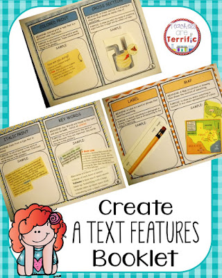 create a booklet of non fiction text features