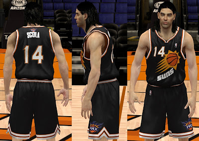 NBA 2K13 Phoenix Suns 2014 Black Away Jersey
