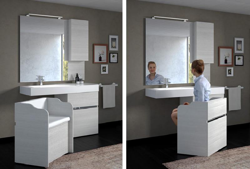 mobile bagno New Age di Goman