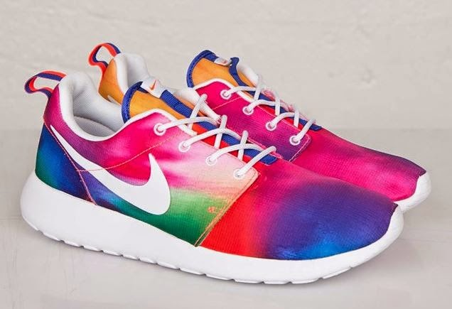 d6264fbd1209 Here is a look at the new Nike Roshe Run Print Multi-Color Sneaker  Available Now HERE