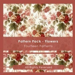 Photoshop Patterns Pack Flowers