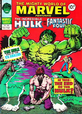 Mighty World of Marvel #305, the Hulk