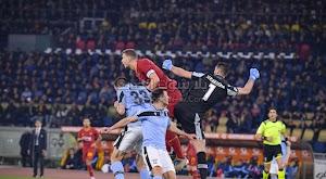 التعادل الاجابي يفرض نفسه على لقاء روما ولاتسيو في الدوري الايطالي