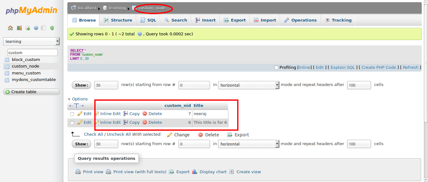 Drupal: How to Add Custom table in Views Query Alter
