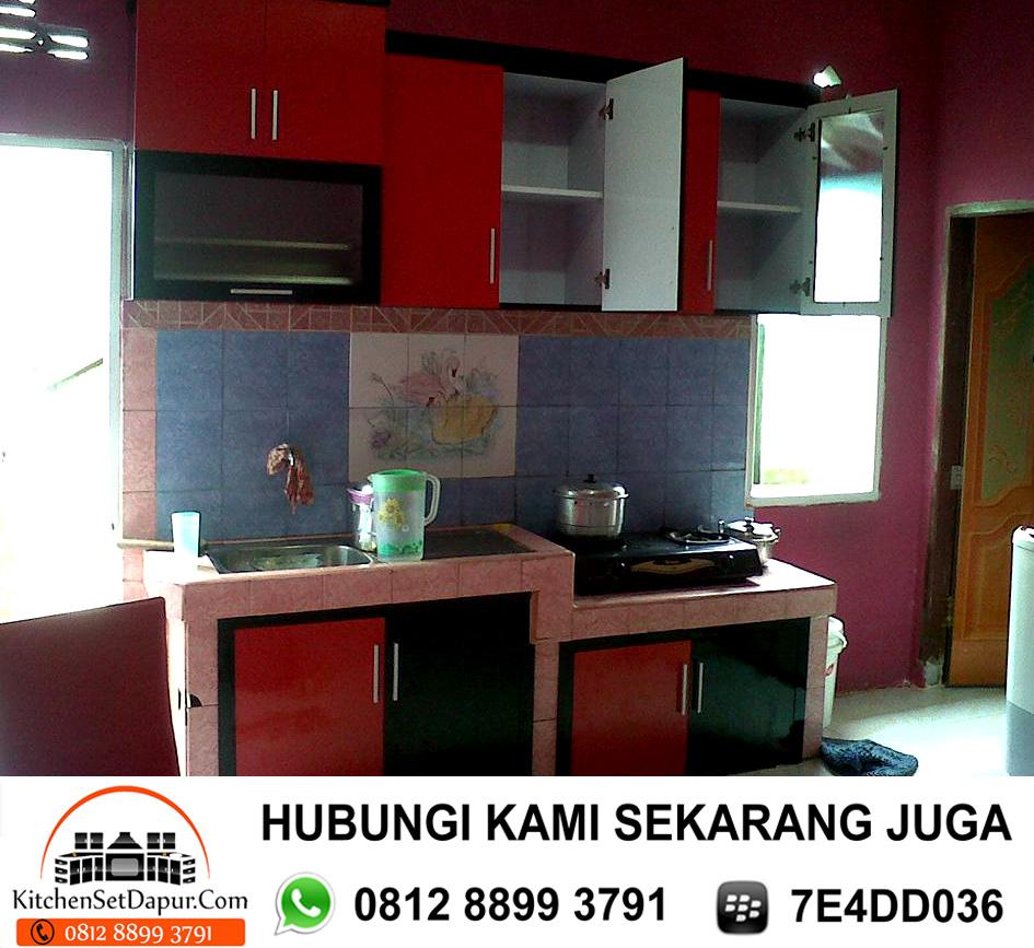 Jual Kitchen Set Aluminium Cilodong Depok 0812 8899 3791