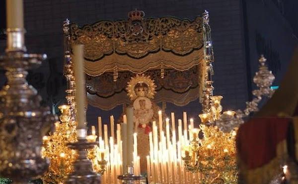 Hoy traslado de la Esperanza de Málaga: Horario e Itinerario