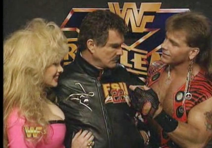 WWF / WWE: Wrestlemania 10 - Shawn Michaels and Burt Reynolds