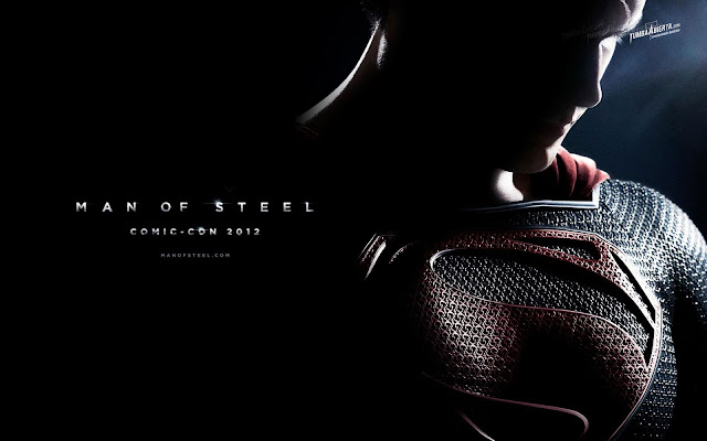 Fond Ecran Man Of Steel