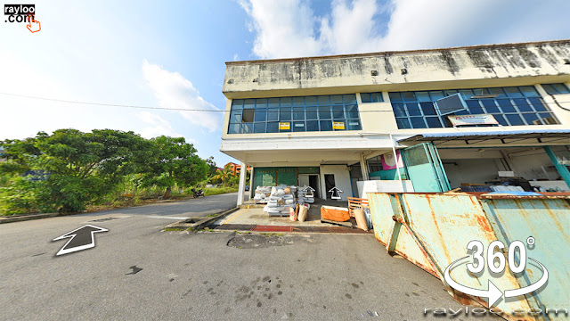 Penang Teluk Kumbar Warehouse Corner Unit