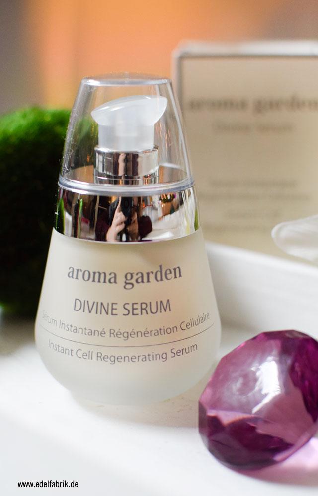 Review des aroma garden Divine Serum