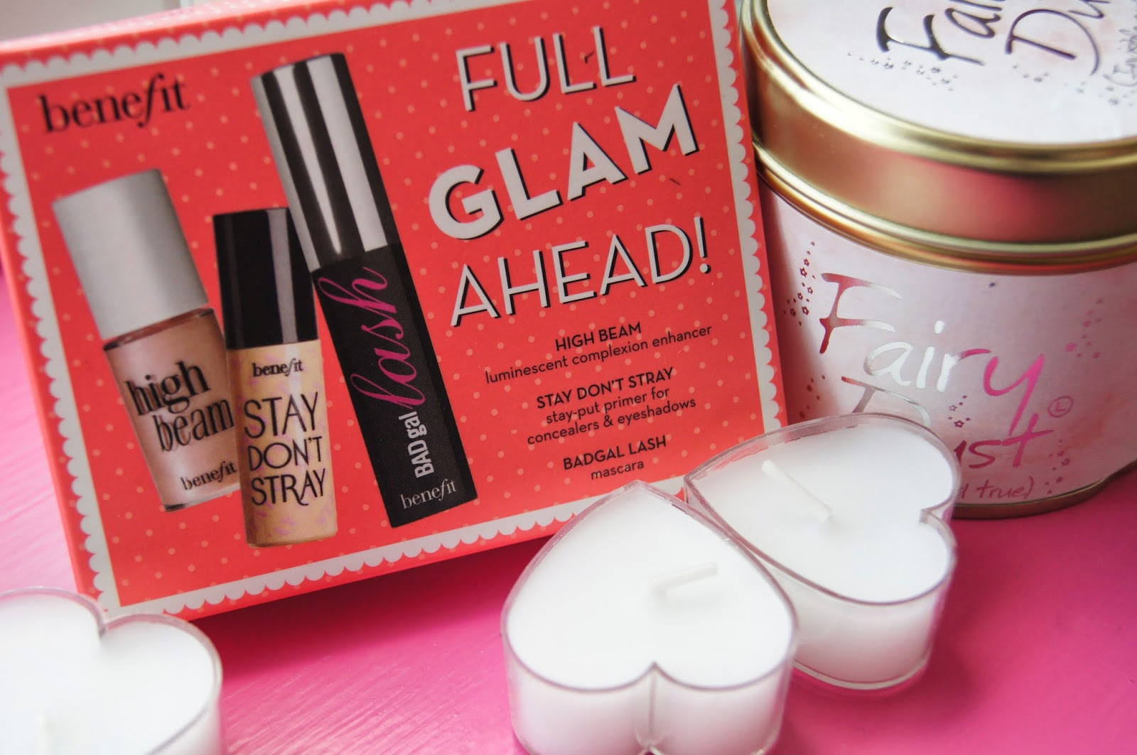 As a birthday gift I received the Benefit u0027Full Glam Aheadu0027 kit which has 3 mini benefit products. They are really tiny but I guess theyu0027re good enough for ... & Benefit u0027Full Glam Aheadu0027 Kit | THE ROSE GLOW