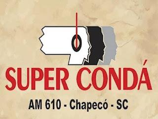 Rádio Super Condá AM 610 de Chapecó SC