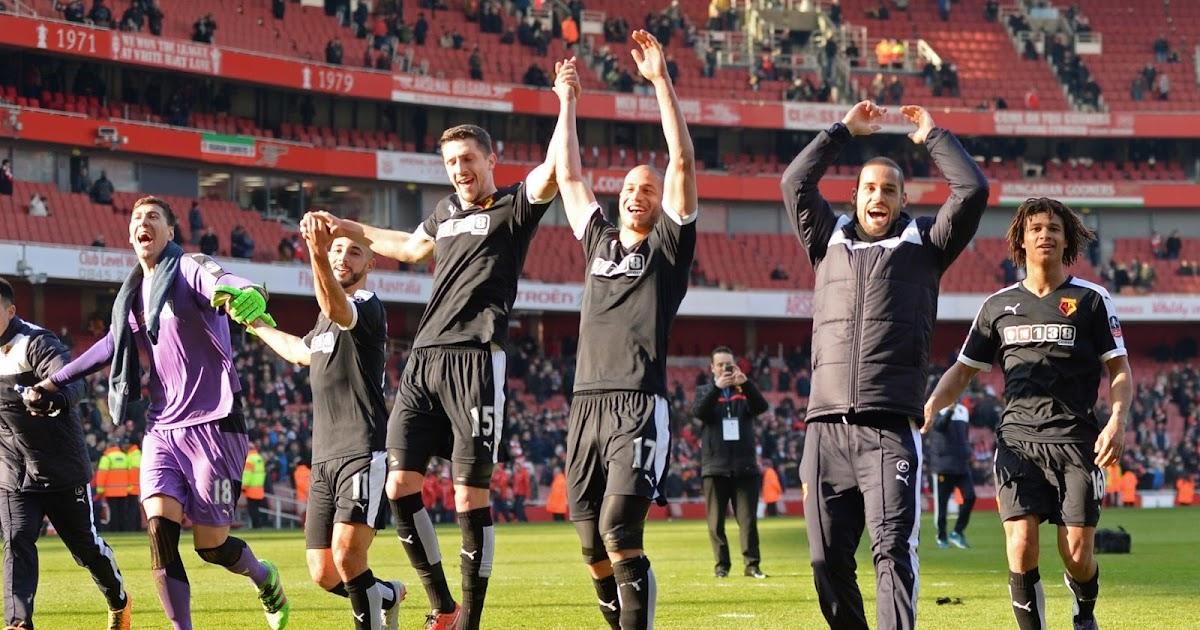 MAX SPORTS: FA CUP 2016: WATFORD YAITUPA NJE ARSENAL