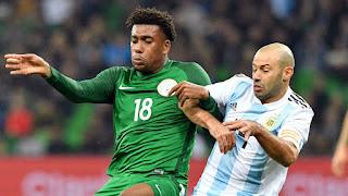 Watch How Super Eagles Fared Argentina 2-4 Nigeria