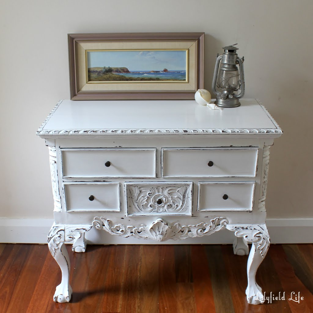 painted queen anne sofa table ciak lilyfield life painting furniture white