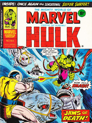 Mighty World of Marvel #164, Hulk vs Captain Omen