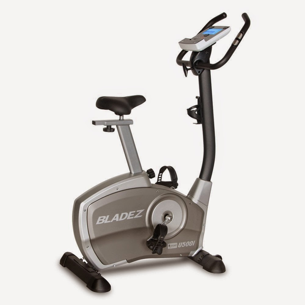 Bladez Fitness U500i Upright Exercise Bike, review, 26 workout programs, 24 resistance levels, plus iConcept technology, compare with U400