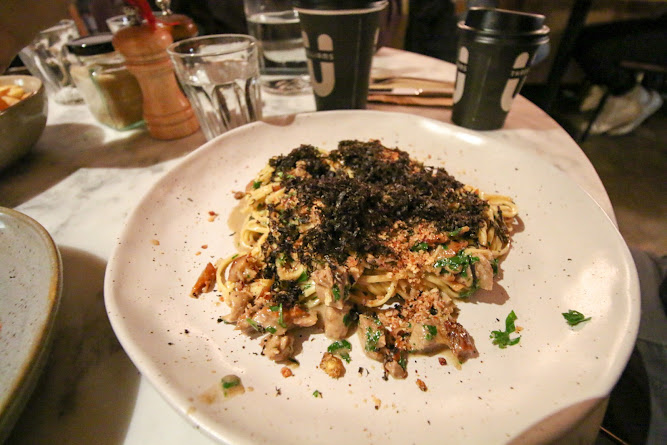 Three Williams Roasted Duck Angel Pasta with Truffle
