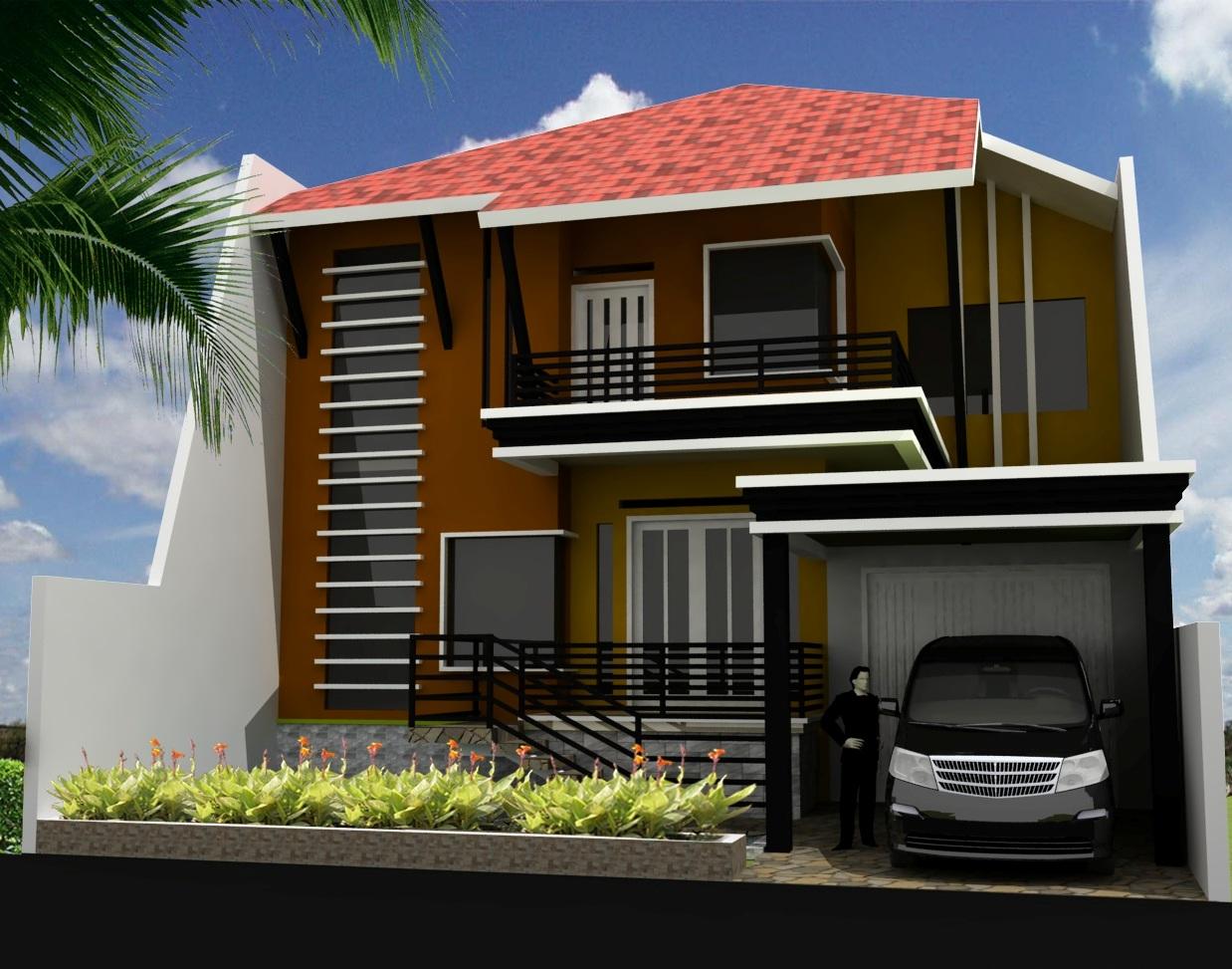 20 Rumah Minimalis Lantai 2 Sederhana Model Baru 5000 Koleksi