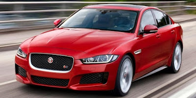 Jaguar XF left side front view Hd wallpaper