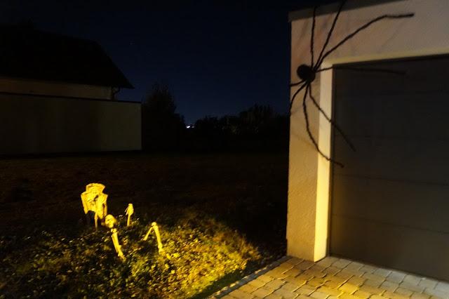 halloween riesen spinne
