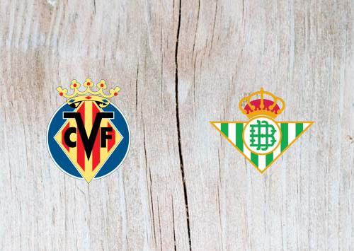 Villarreal vs Real Betis - Highlights 25 November 2018