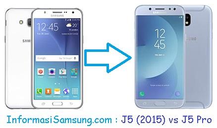 Harga dan Spesifikasi Samsung J5 (2015) vs J5 Pro